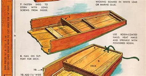 Wooden Punt Boat Plans by Free Punt Plans Page 2 Teich Hausboote