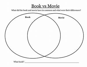 Venn Diagram For Comparing Movie To Novel