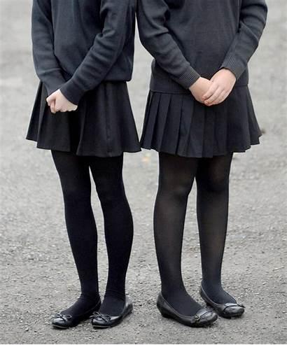Tights Wear Skirt Insists Hosiery