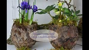 Frühlingsdeko Aus Naturmaterialien Selber Machen : diy fr hlingsdeko selber machen bertopf aus laubbl tter f r fr hlingsbl her youtube ~ Eleganceandgraceweddings.com Haus und Dekorationen