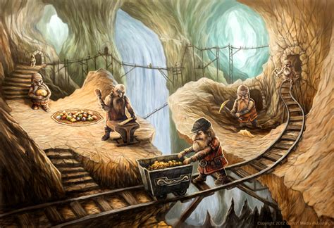 Dwarf Mine By Jakobhansson On Deviantart