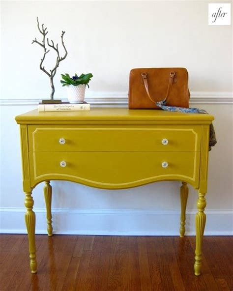 brightly painted furniture ideas