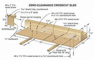 Crosscut Sled