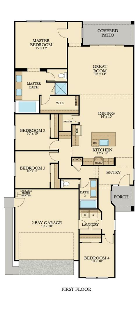 Highland Homes Floor Plans Oregon by The Waterton Plan 1880 New Home Plan In Highland Grove