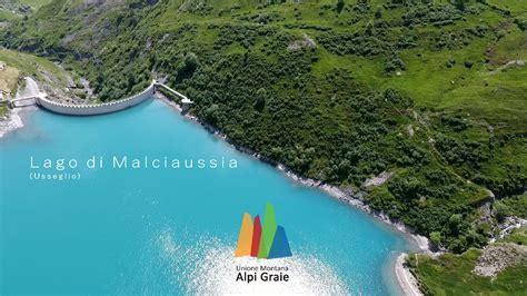 lago  malciaussia usseglio estate video fly