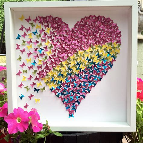 paper butterfly wall decor 3d paper butterflies wall 3d paper pink yellow