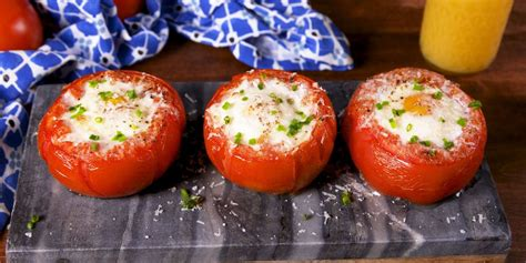 tomatoes breakfast recipe delish recipes