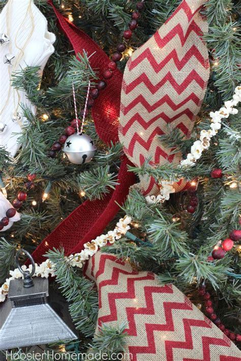 vintage christmas tree hoosier homemade