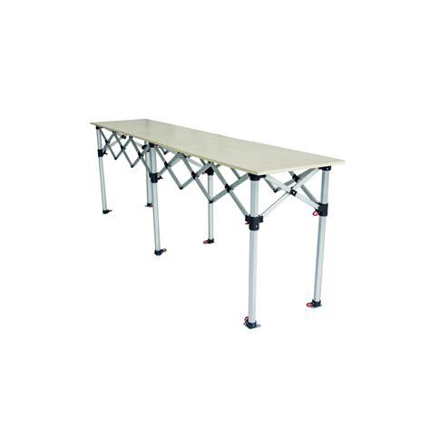 table de cing pliante table pliante reglable en hauteur 28 images vidaxl table pliante de cing en aluminium avec
