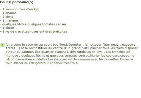 cuisiner une anguille recette saumon frais aux fruits exotiques facile et rapide