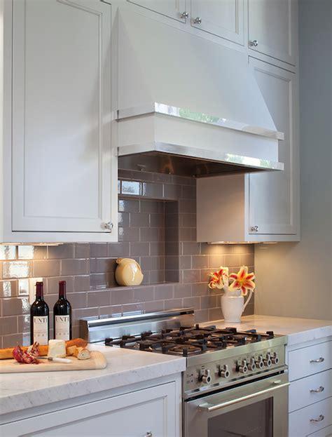 grey kitchen cabinets with backsplash grey subway tile backsplash contemporary kitchen