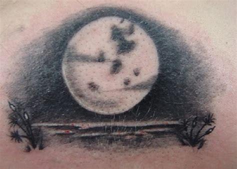 gothic moon tattoo ideas