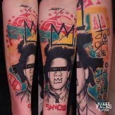 Basquiat Crown Done Alex Richardson Abstract Arts