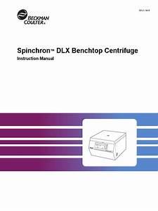 Centrifuga Beckman Spinchron