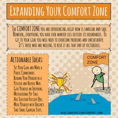 how to comfort a how to expand your comfort zone to achieve your goals