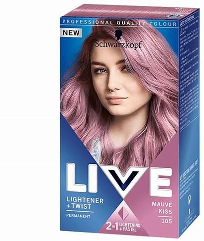 Hair Dye Schwarzkopf Colour Mauve Kiss Blonde