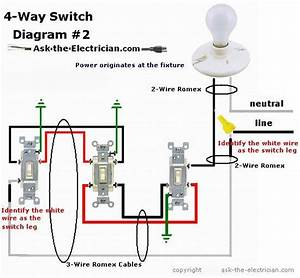 Leviton 4 Way Switch Diagram
