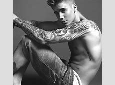 Justin Bieber Becomes The Face of Calvin Klein's Spring