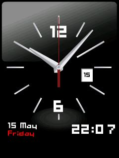 Digital Clock Clock Live Wallpaper Mobile9 by Clock Mobile Screensavers 2441245 Pro Popular