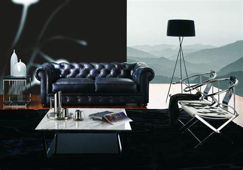 canape cuir noir mon intérieur et mon canapé canapé