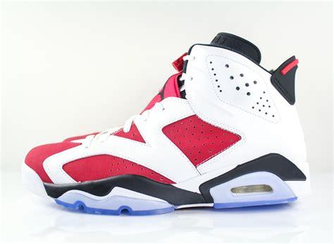 Air Jordan Vi 'carmine' Sneakernewscom