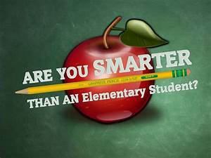 are you smarter than a 5th grader With are you smarter than a 5th grader template