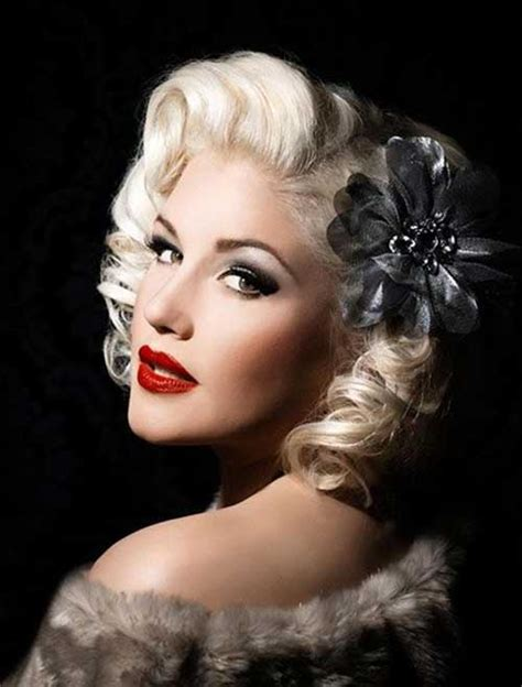 50s Pinup Hairstyles by 10 50s Hairstyles For Hair Hairstyles