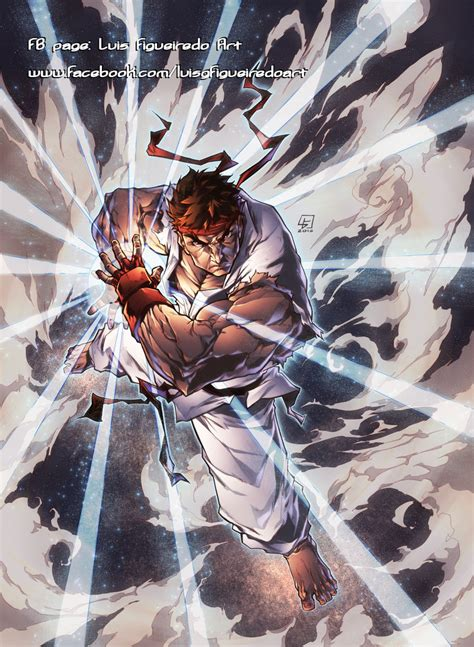Hadouken  Ryu From Street Fighter By Marvelmania On