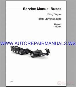 Volvo B11r Wiring Diagram Service Manual Buses