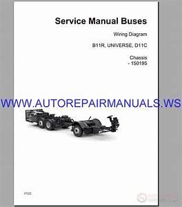 Volvo B11r Wiring Diagram Service Manual Buses