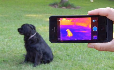 iphone infrared camera  flir  wired