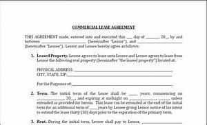 Comfortable office lease template ideas resume ideas for Lease for commercial property template