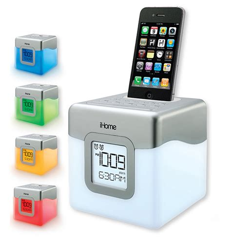 ihome for iphone 5 ihome debuts three clock radios for iphone ipod
