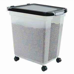 50 lb iris airtight pet food container pack of 3 With dog food container 50 lbs