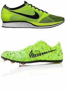 London 2012 Olympic neon yellow green shoes are Nike