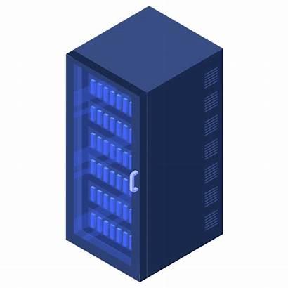 Server Rack Icon Data Servers Center Icons