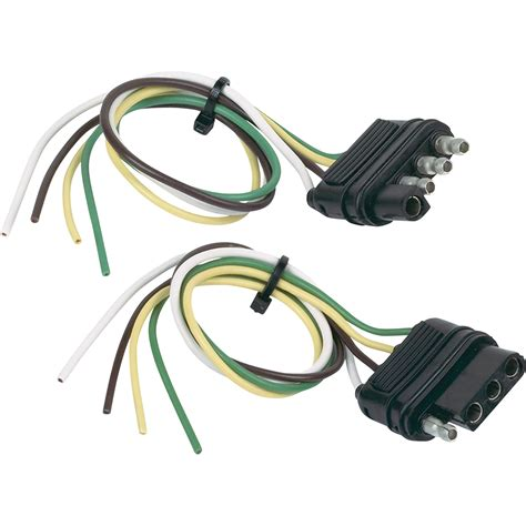 towing solutions 4 wire flat trailer wiring