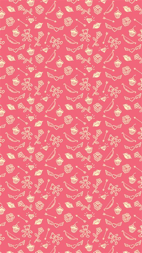 Purple and black skull background. Saint Valentines Cute Things Pattern iPhone 5 Wallpaper HD - Free Download | iPhoneWalls