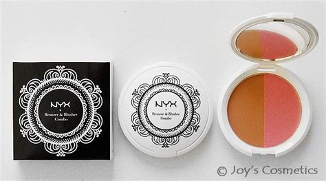 nyx bronzer blusher combo pick color joys