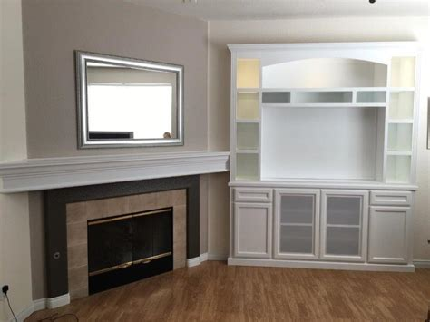 cabinets next to fireplace custom entertainment center cabinets next to fireplace c