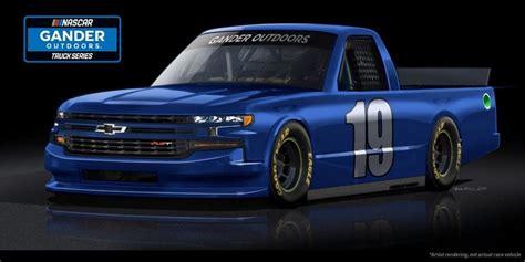 chevy silverado nascar race truck redesigned gm authority