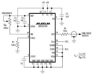 High Frequency Waveform Generator Circuit Diagram Audio
