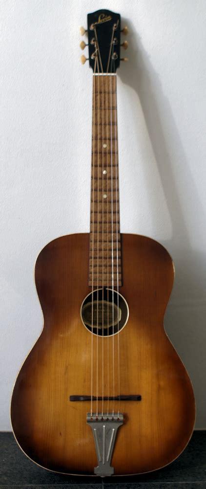 Vintage Guitars, SWEDEN - 1953 Levin Model