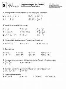 Terme Berechnen Klasse 5 : terme umformen klasse 8 aufgaben terme berchnen 8 klasse ~ Themetempest.com Abrechnung