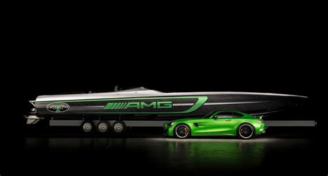 Cigarette Racing Boat Amg by 50 Marauder Amg Inspired By The Mercedes Amg Gt R