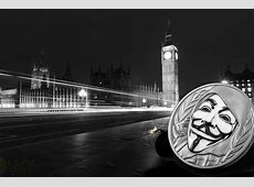 Cultural icon, Guy Fawkes Mask adorns new silver coin from