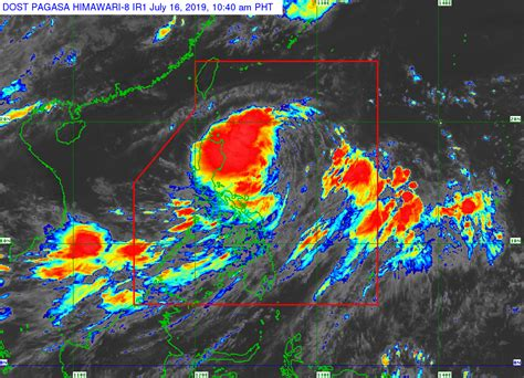 The philippine atmospheric, geophysical and astronomical services administration (filipino: Pagasa: Signal No. 1 up over 3 provinces as 'Falcon' nears ...