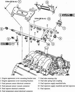 Replace Fuel Inj 2001 Lincoln Ls 3 9 Eng