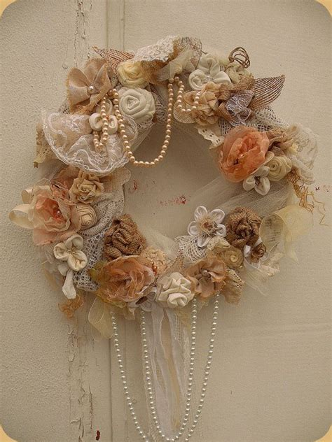 shabby chic wreaths 22 versatile shabby chic christmas wreaths that can be