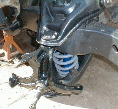 chevy camaro suspension subframe restoration information